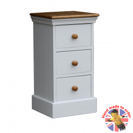 Wiltshire Bedroom Bedside 3 Drawers