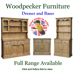 Advert: Woodpecker Furniture Dressers and Bases