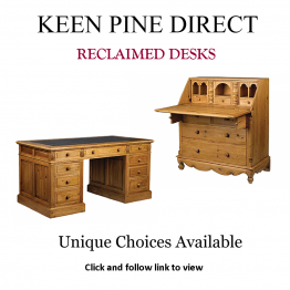 Advert: Keen Pine Direct Reclaimed Desks