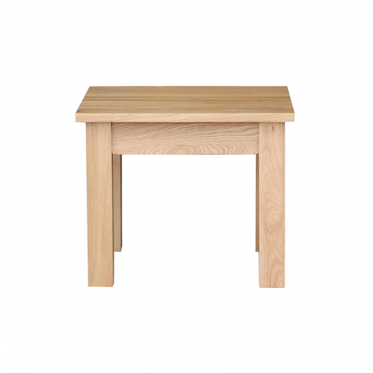 Oak occasional small coffee table for Small occasional tables