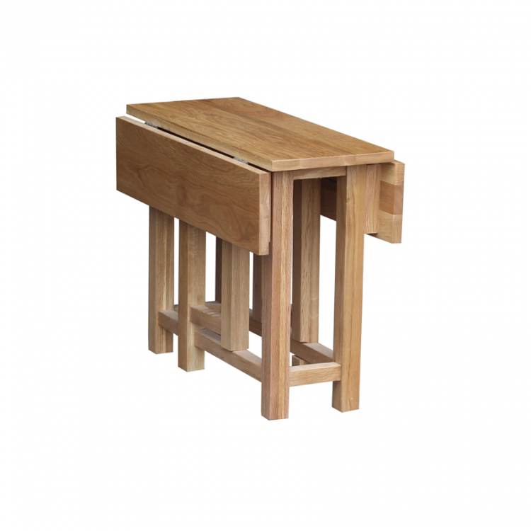 Oak Occasional Gateleg Side Table
