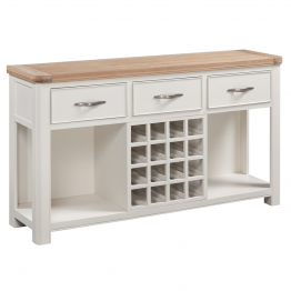 Stow Painted Sideboard with Open Wine center Section