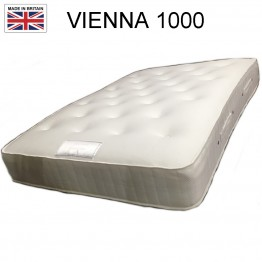 VIENNA 1000 POCKET MATTRESS Options