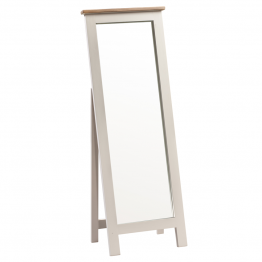 York Painted Bedroom Cheval Mirror