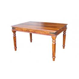 Dark Indian 90x90 Dining Table