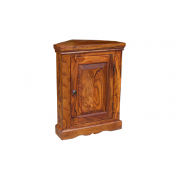 Dark Indian Mini 1 Door Corner Base Unit