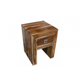 Indian I drawer Lamp Table